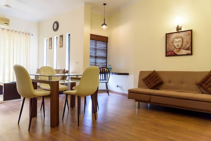 Divine Apartment at Tarudhan Valley Golf Resorts