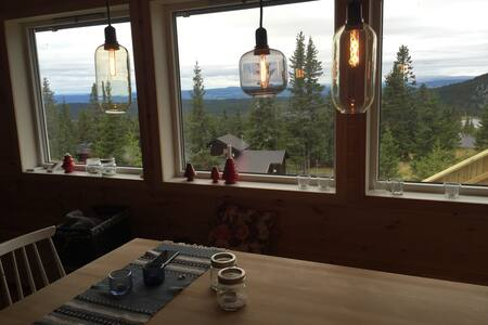 High standard cabin with stunning view