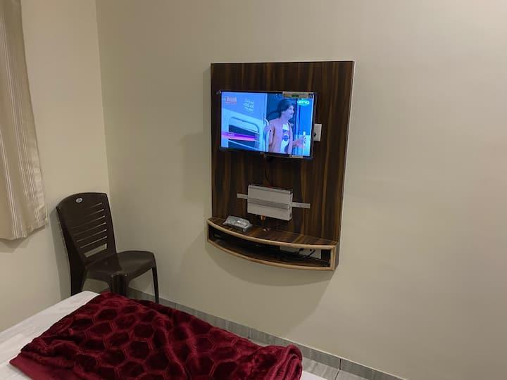 Budget Double Room-BD101- Galaxy Residency, P'gani