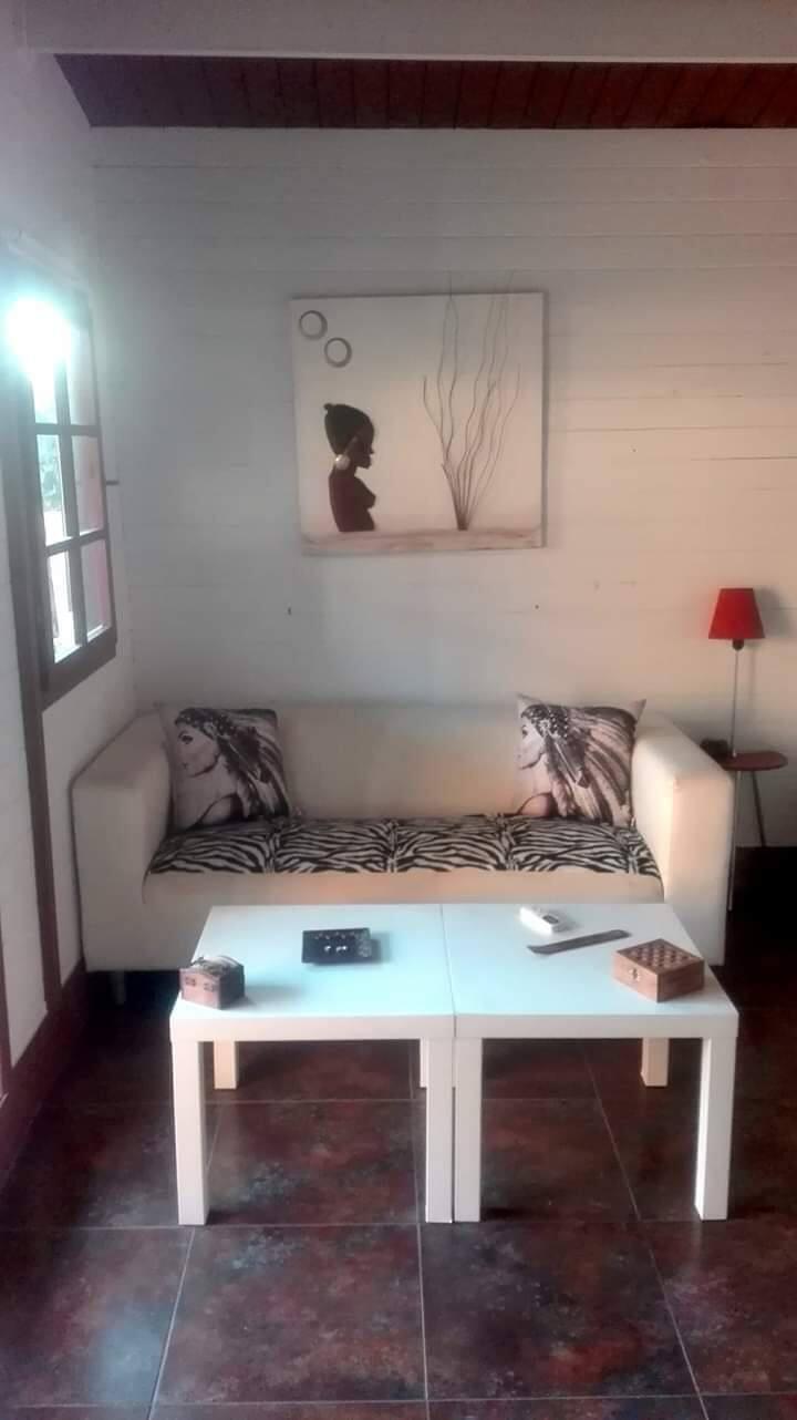 Acojedor bungalow a 10 min de la playa y centro .