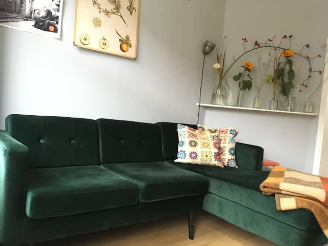 Shiny happy guest apartment in Rotterdam