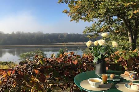 Gîte au calme avec une vue imprenable sur la Loire
