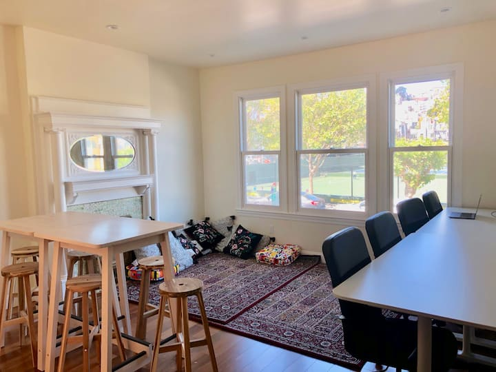 Safe Co-living Community in North Beach