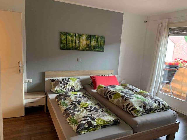 Schlafzimmer in Privatwohnung