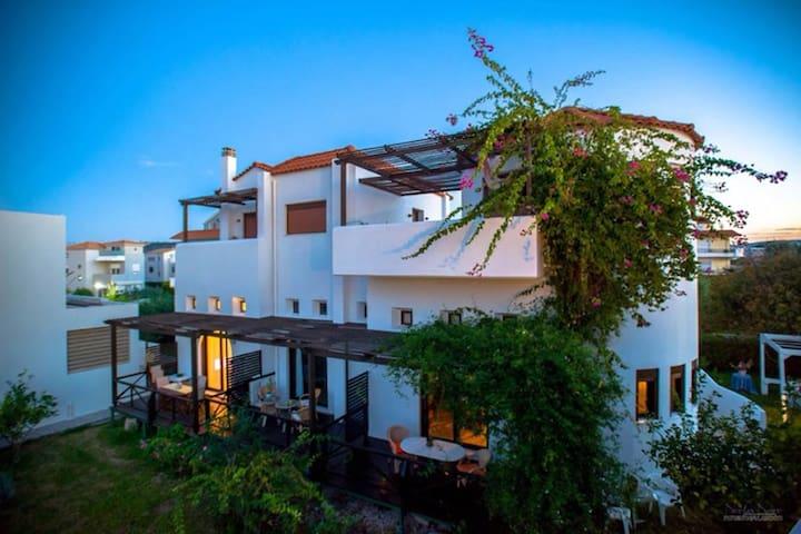Sea view studio Armonia at villa Mylos