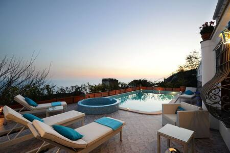 Villa Elena in the heart of Amalfi Coast - Conca dei Marini