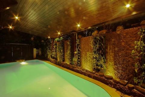 Leonara - 5BHK Luxurious Portuguese-style Villa