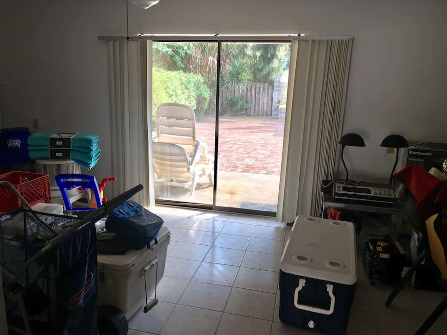 Extra storage room
