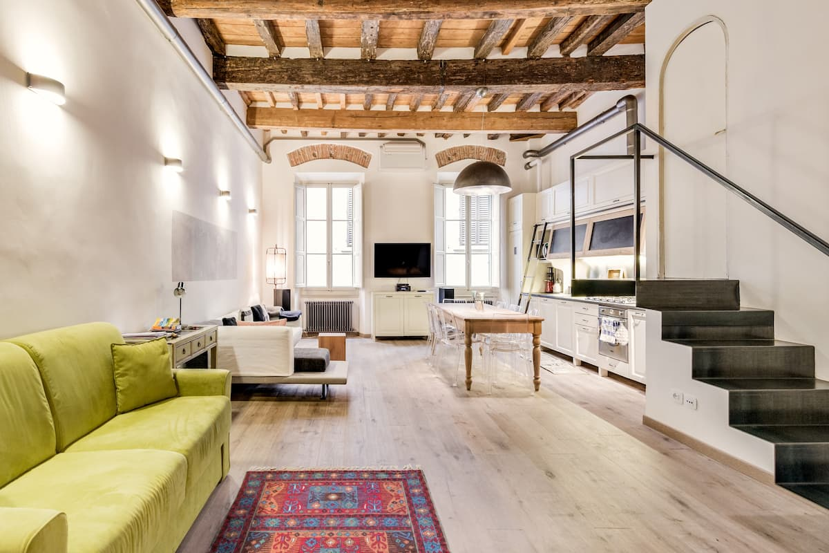 Contemporary, Eco-Friendly Loft in Florence