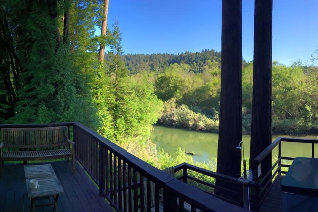 Summerland cabin russian river cabins for rent in for Russian river cabins