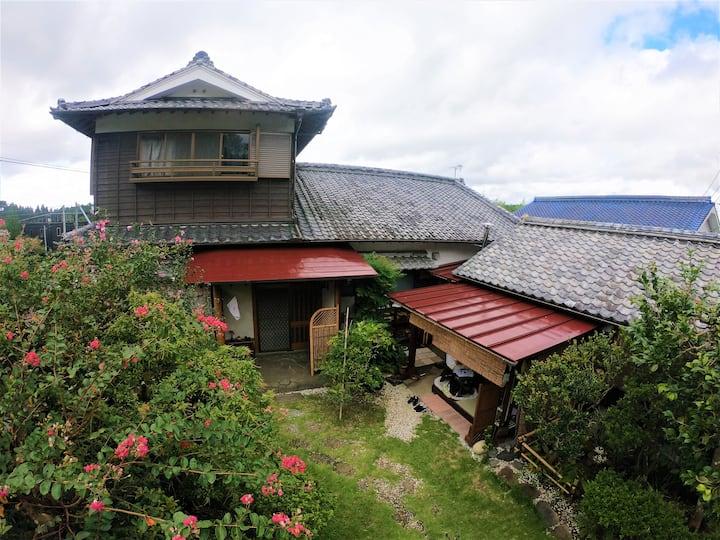 Hikoboshi,Japanese-style room with star view