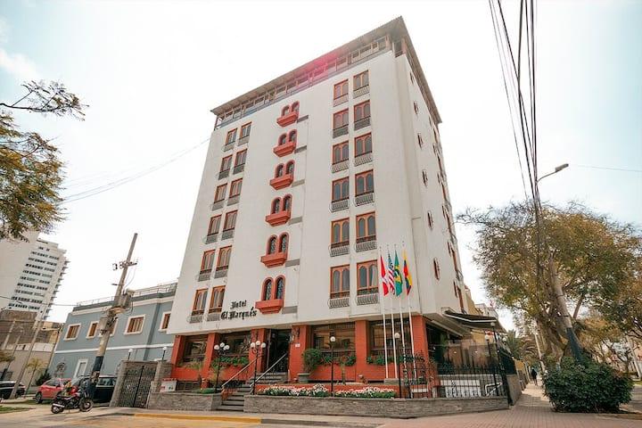 """Hotel El Marqués """"Habitación Individual privada"""""""