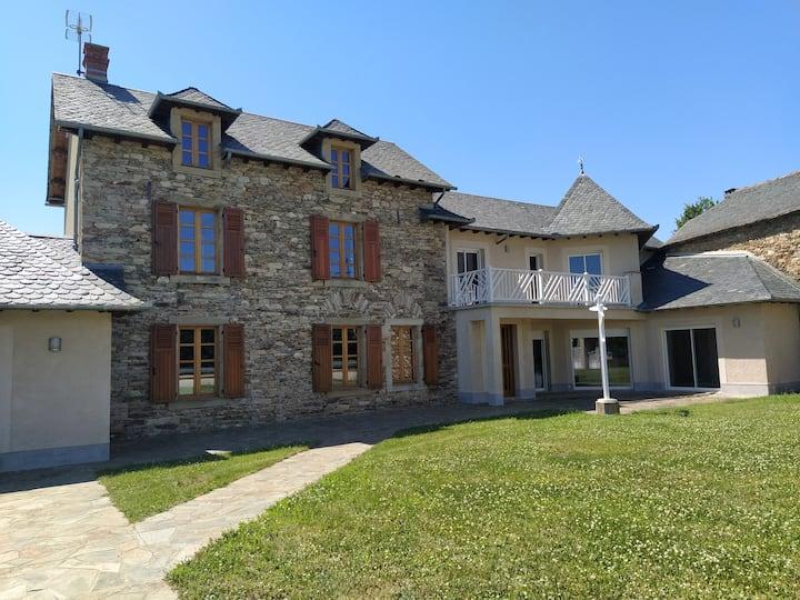 Maison de vacances en Aveyron