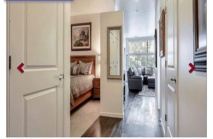 Spacious one bedroom executive loft monthly rental