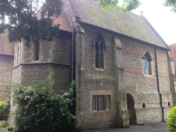 Private suite in converted convent