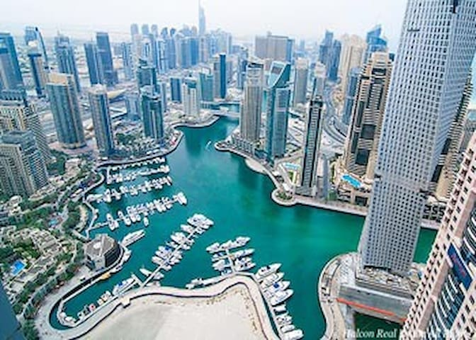 Beautiful Room in Luxurious Dubai Marina(En-Suite) - Dubai - Apartamento