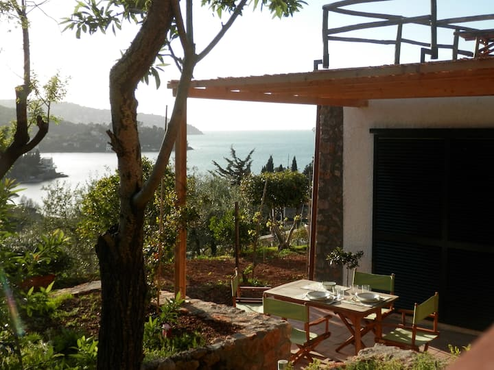 Pianone 14. Apartment with Garden and Sea View