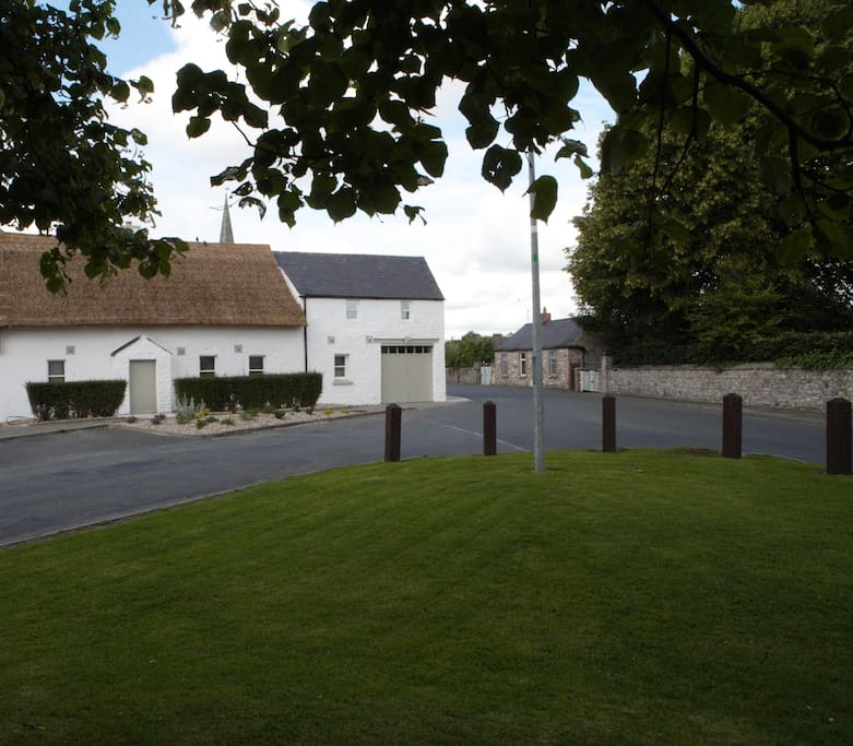 Connell's House & Barn from the Village Green