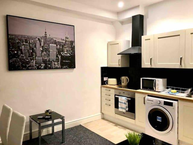 BELMONT APARTMENTS- One bedroom flat