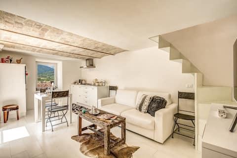 appartamento di design con vista