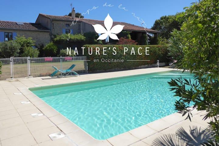 Nature's Pace Holidays- Cabardès Gite
