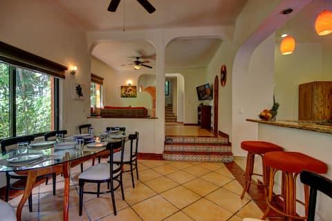 Casa Villa Amueblada,cerca del mar.Riviera Maya