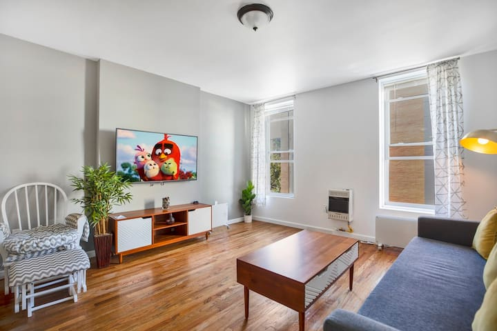 Charming 1BR - 15min to NYC