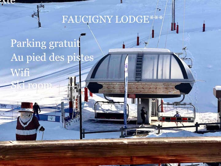 FAUCIGNY LODGE-N D BELLECOMBE 8/10 PERS ***