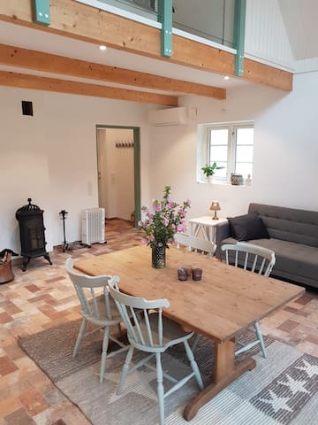 Beautiful cottage with fireplace south Sweden