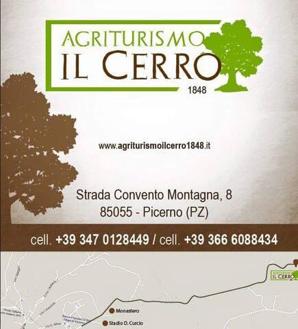 """B&B Agriturismo """"IL CERRO 1848"""" ."""