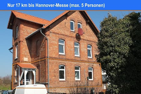 Whole Floor - 17 kms from Hanover Fair (H-Messe) - Harsum