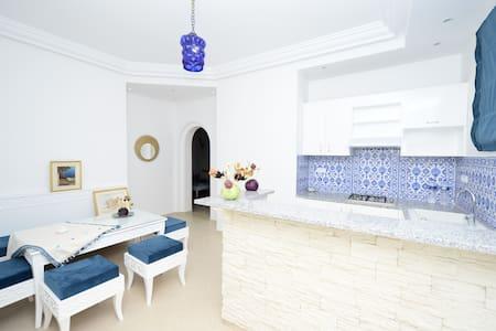 suite citron bleue - Dar Chaabane Al Fehri - Selveierleilighet