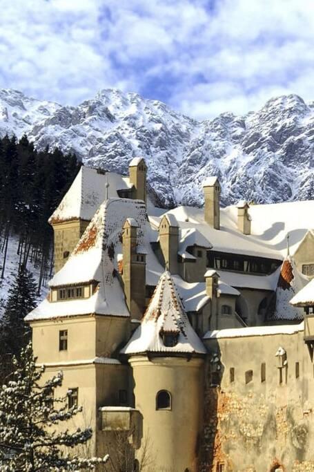 Bran Castle - Dracula Castle -winter