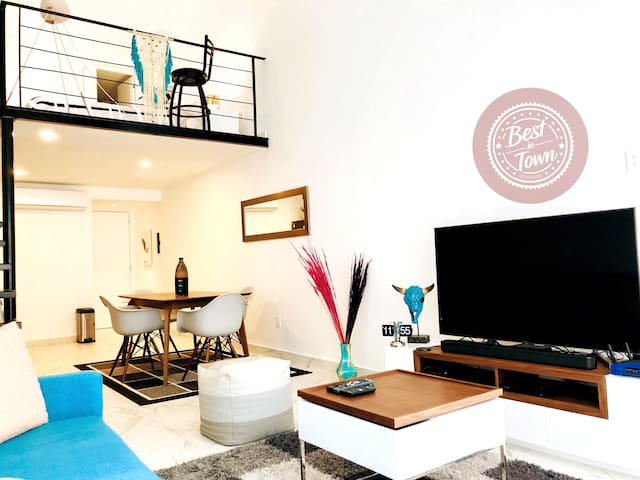 Exotic Loft in the ❤️of Playa del Carmen   5th Av