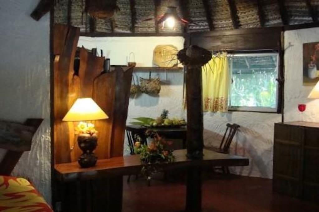 Vue intérieure du Bungalow