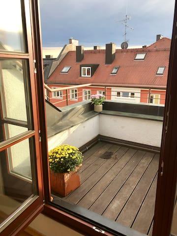 Zwei-Zimmer Wohnung mit DACHTERRASSE  in Top Lage