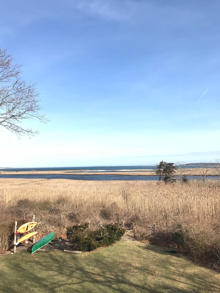 Water view home is truly a  Secluded get away.