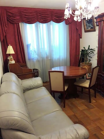 Cozy room not far from the downtown - Москва - Apartemen