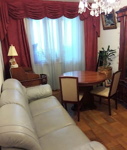 Cozy room not far from the downtown - Москва - Huoneisto