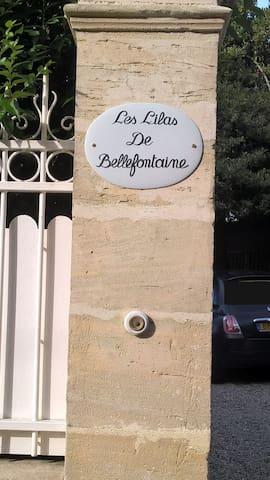 """Maison avec jardin """"Les lilas de Bellefontaine"""""""