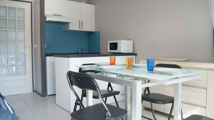 STUDIO CABINE à 50m de la plage à FORT-MAHON PLAGE - Fort-Mahon-Plage - Apartemen