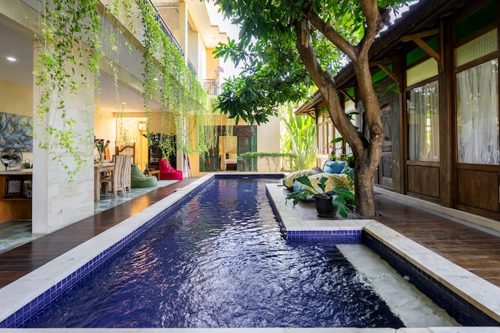 Joglo View Villa in Sanur