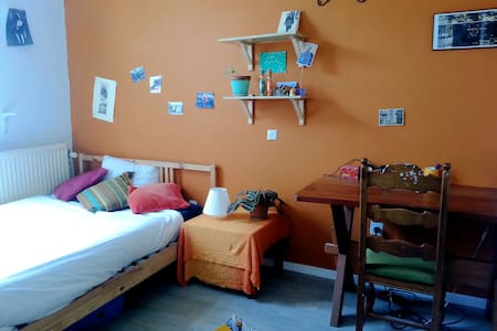 An independent comfortable Room in Ixelles. - House