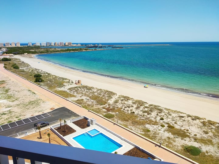 La Manga Penthouse with Mediterranean Sea Views