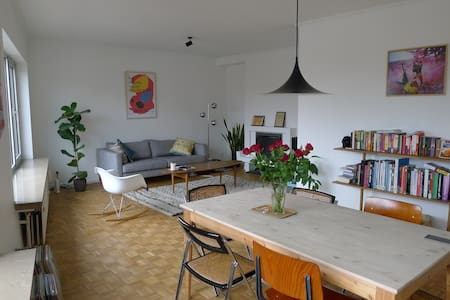 Cosy private room in 60's apartment - Gent - Daire