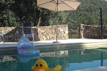 Appartement avec piscine au coeur des Cévennes - Notre-Dame-de-la-Rouvière