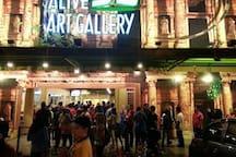 Nearest Attraction : Alive 3D Art Gallery