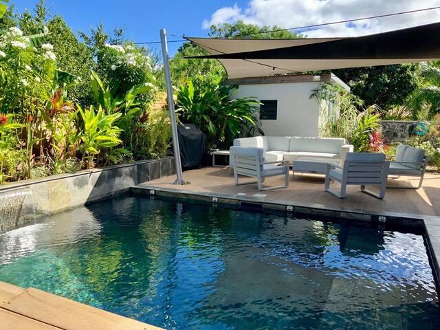 Location chambre 2pers dans Villa avec piscine