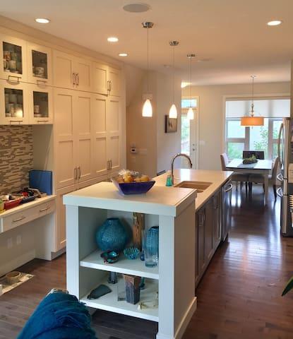 Shared space on main floor (kitchen)