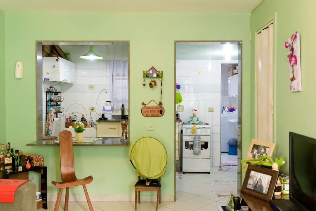 Cozinha estilo americana - American kitchen